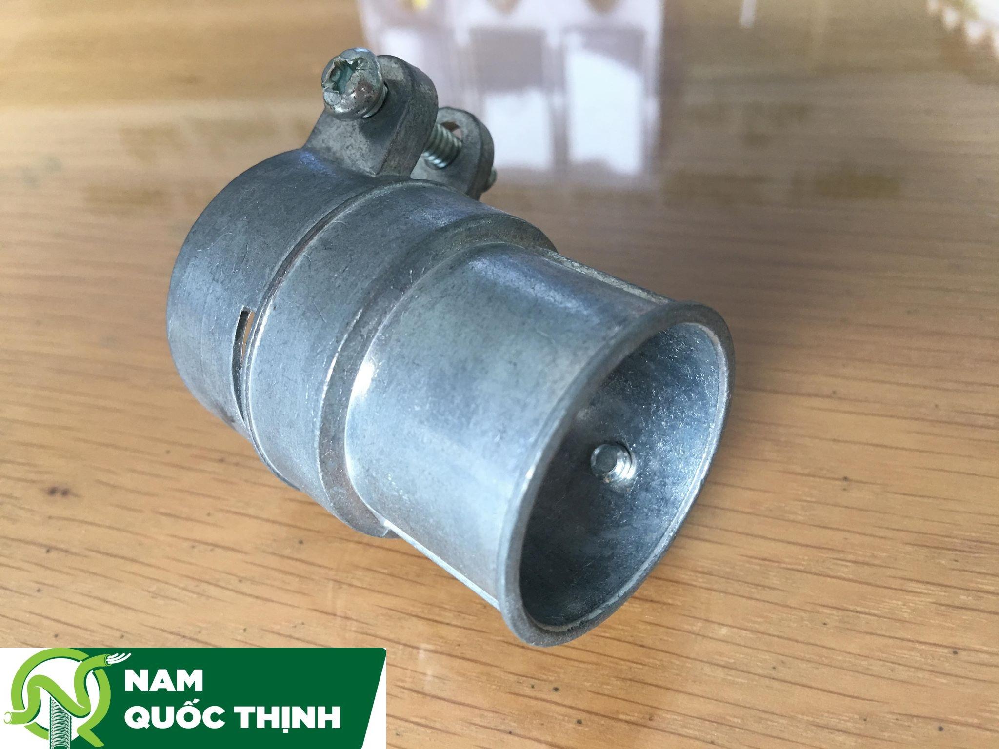 Đầu Nối Ống Ruột Gà Với Ống Thép trơn IMC